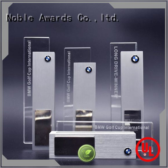 Noble Awards portable Metal trophies with Gift Box For Sport games