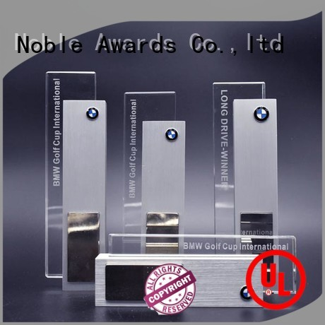Noble Awards Gift Box Metal trophies with Gift Box For Awards