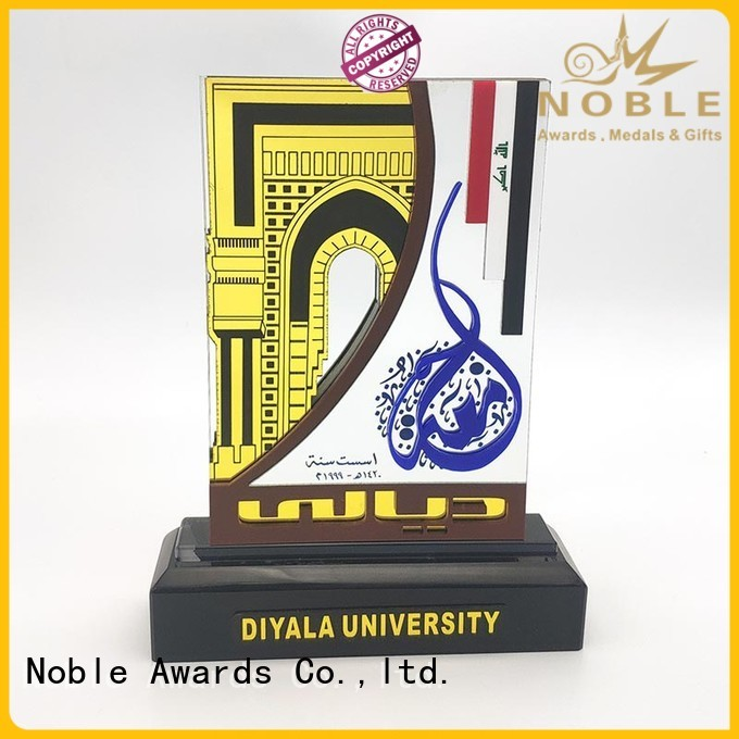 Noble Awards latest custom trophy awards OEM For Awards