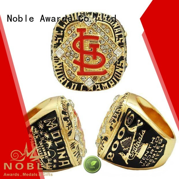 Custom zinc alloy Champion rings with Gift Box For Sport games