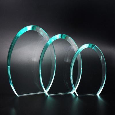 New Design Custom Oval Shape Jade Acrylic award