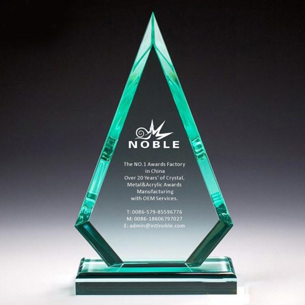 Blank Custom Logo Jade Acrylic Plaque Award