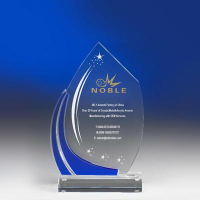 Customized True Star Acrylic Trophy Award