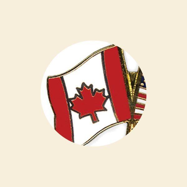 Custom Gold Metal National Flags Enamel Badge Full Color Lapel Pin For Souvenir