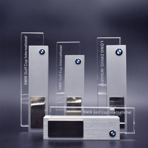 Noble Custom Design Aluminum Golf Trophy Award for BMW Club