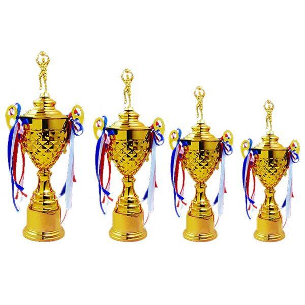 Noble Large Metal Cup Basketball Metal Trophy