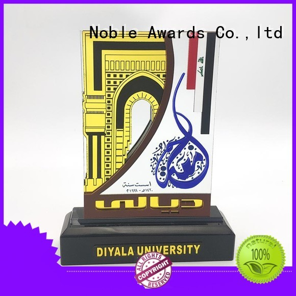 Noble Awards crystal acrylic awards wholesale with Gift Box For Awards
