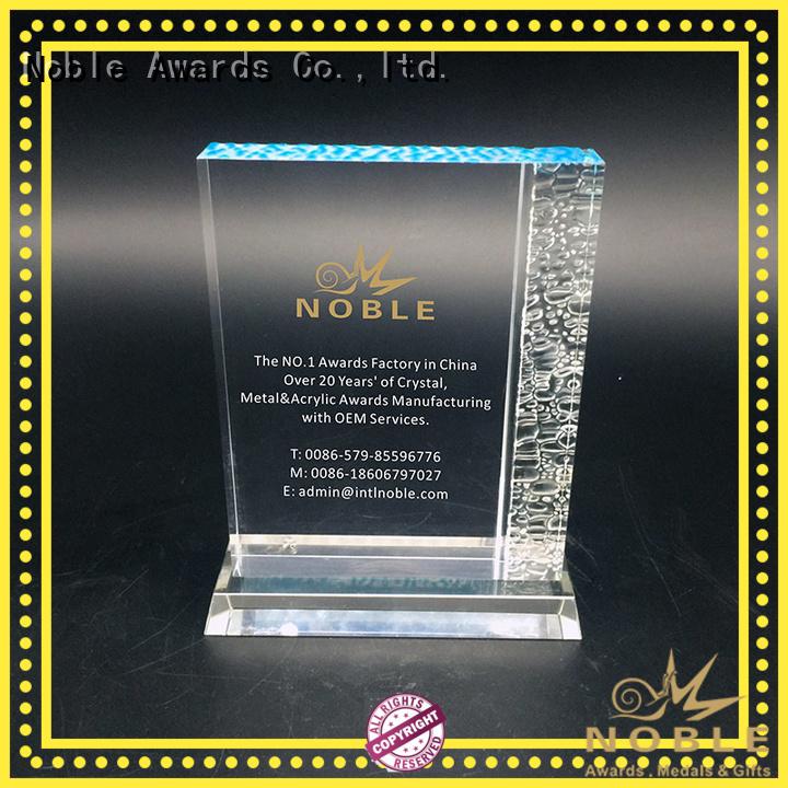 custom trophy awards crystal For Sport games Noble Awards