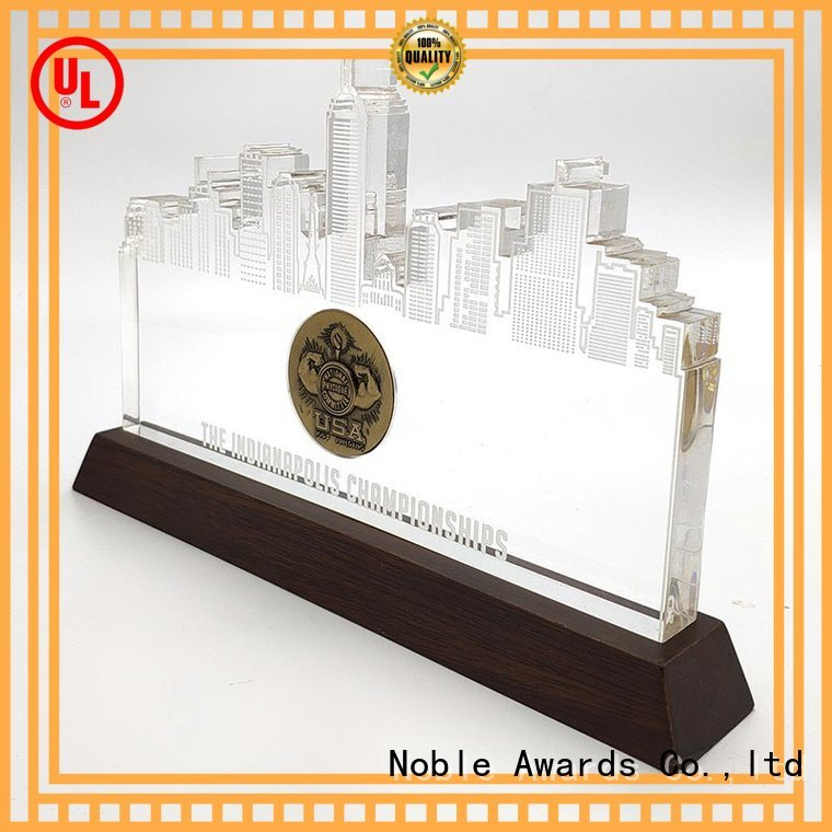 latest glass trophy Transparent OEM For Gift