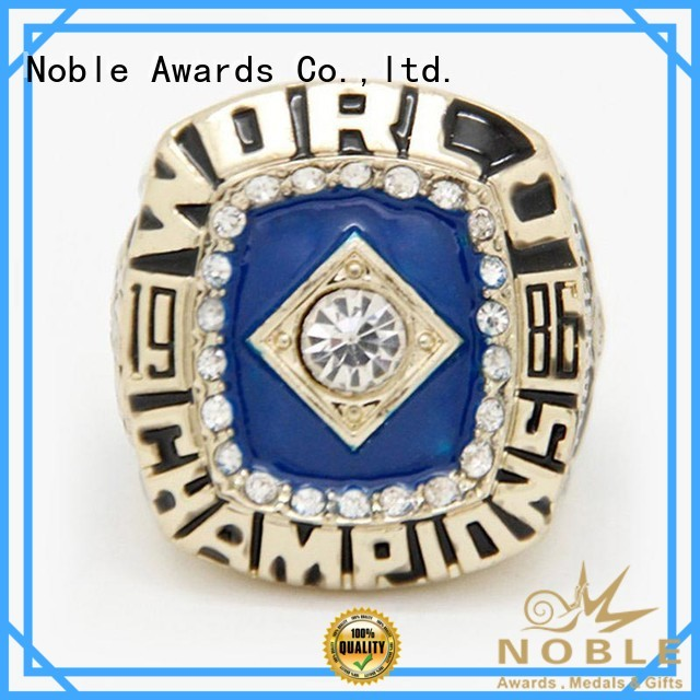 zinc alloy Champion rings with Gift Box For Sport games Noble Awards