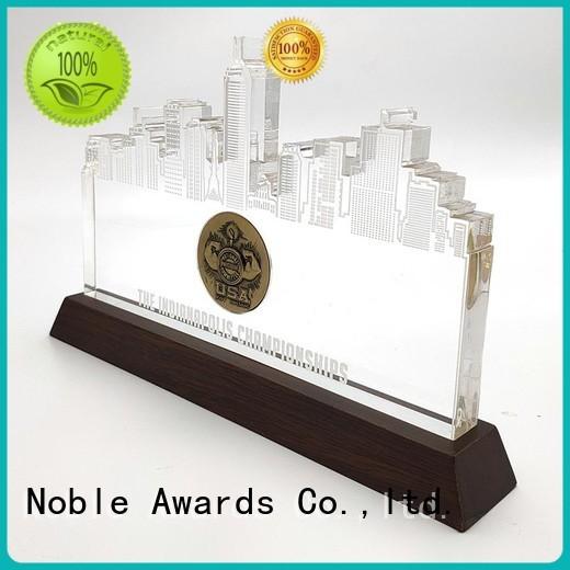 Noble Awards crystal acrylic awards wholesale with Gift Box For Awards