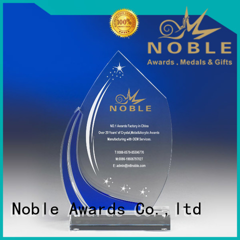 Noble Awards high-quality acrylic awards wholesale with Gift Box For Sport games