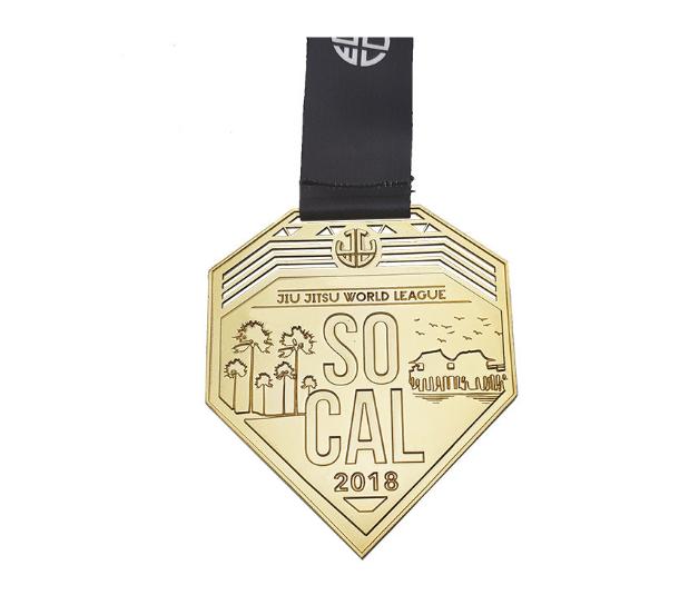 Custom gold Medals