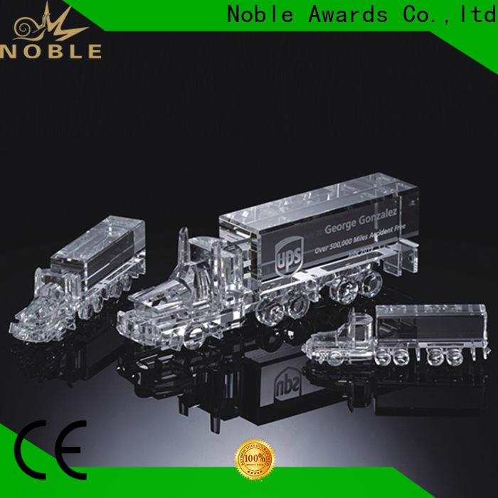 Breathable Blank Crystal Trophy jade crystal OEM For Sport games
