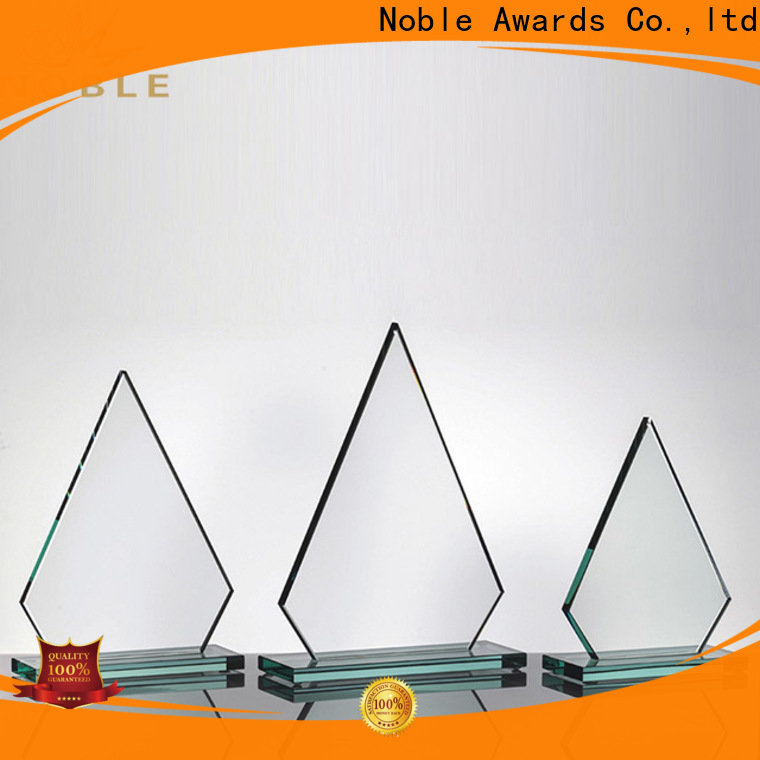 Noble Awards Breathable Crystal trophies customization For Awards