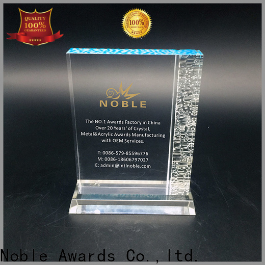 Noble Awards on-sale acrylic awards wholesale with Gift Box For Awards