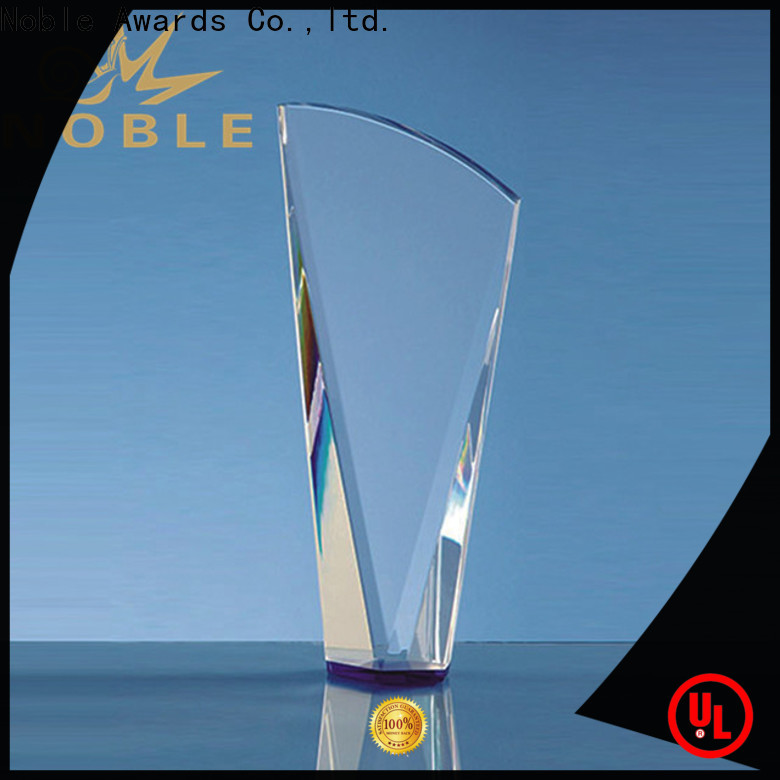 on-sale custom glass awards and plaques jade crystal for wholesale For Gift