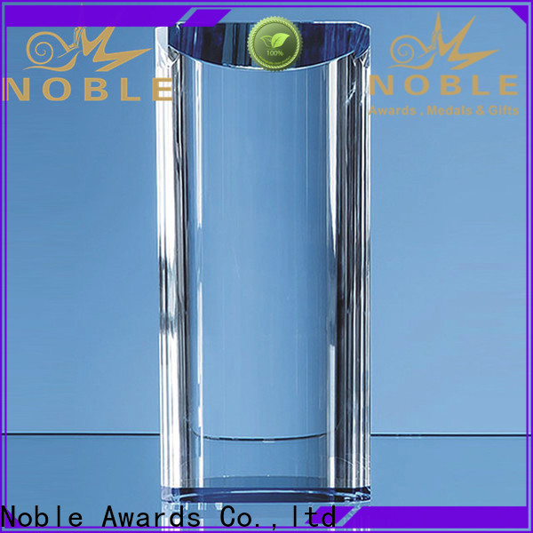 Noble Awards jade crystal crystalline trophies for wholesale For Gift