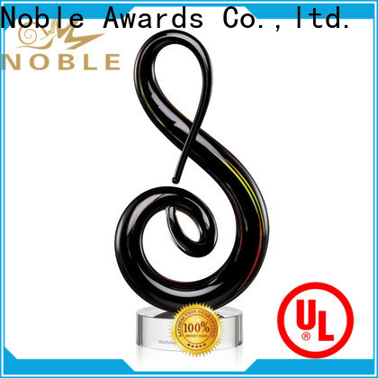 durable hand blown glass awards glass ODM For Sport games