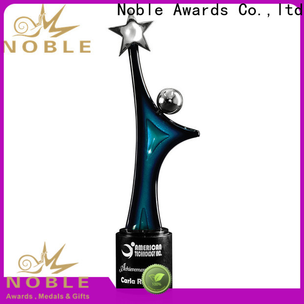 Noble Awards on-sale art glass awards trophies buy now For Sport games