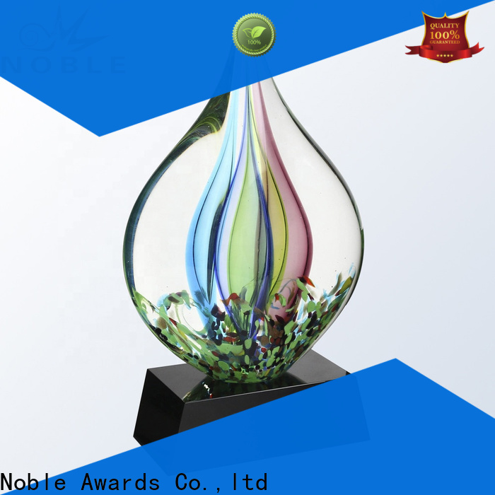 Noble Awards portable custom sculpture trophy get quote For Awards