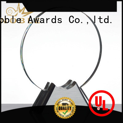 Noble Awards solid mesh Crystal trophies get quote For Gift