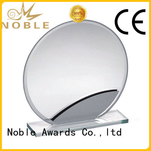 Noble Awards solid mesh Crystal trophies for wholesale For Gift