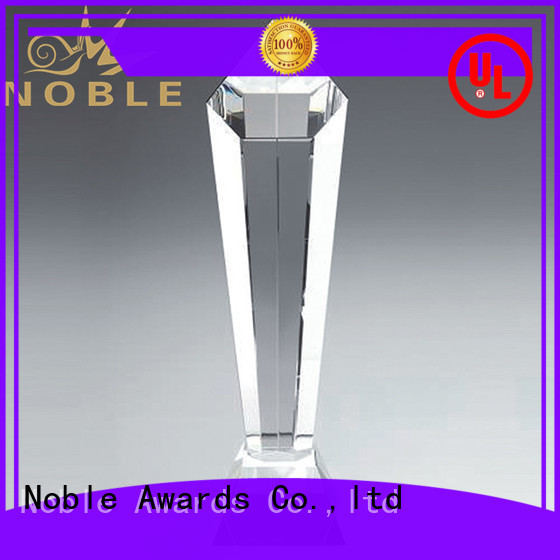 Breathable Blank Crystal Trophy premium glass get quote For Awards