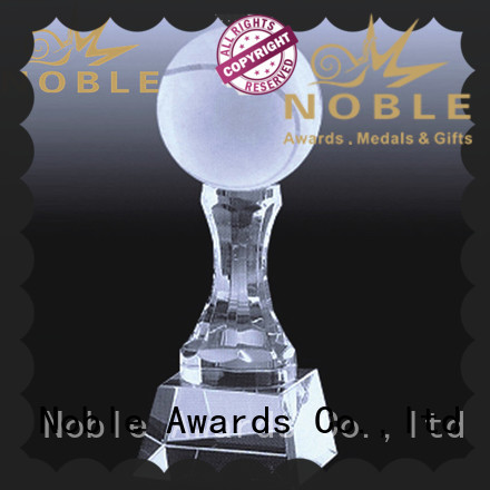 Noble Awards latest Crystal trophies for wholesale For Sport games