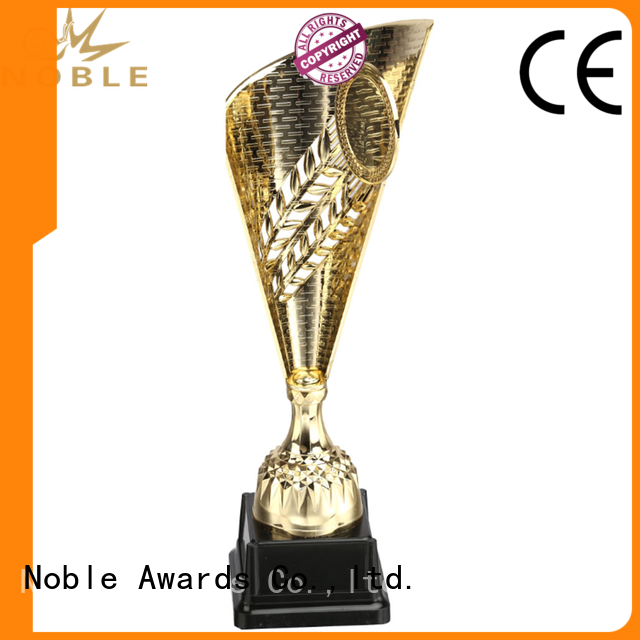 Noble Awards metal metal cup trophy bulk production For Gift