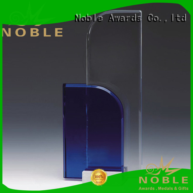 Noble Awards high-quality Blank Crystal Trophy free sample For Gift