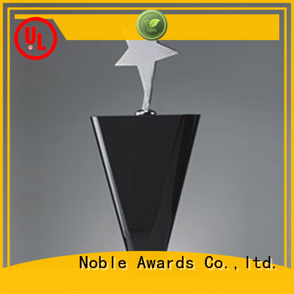 Noble Awards durable Custom trophies supplier For Sport games