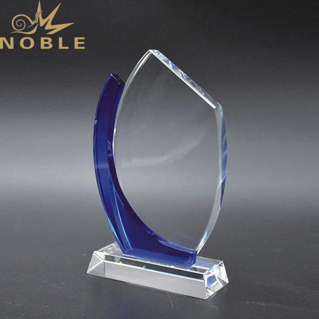 Noble New Custom Sailing  Crystal Glass Trophy Award  For Souvenir