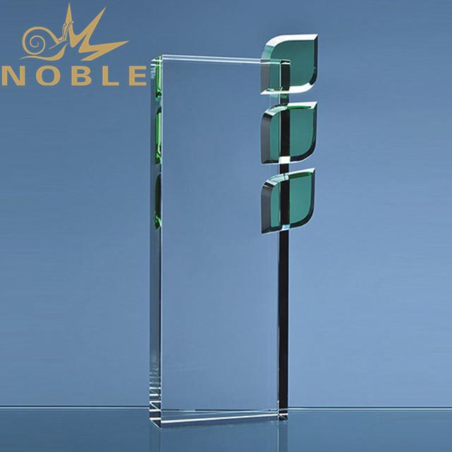 Create custom crystal leaf award