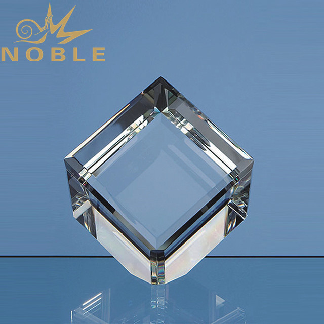 3D laser engraving blank crystal cube