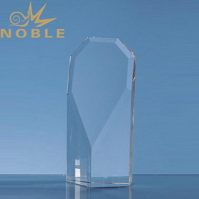 Free engraving blank crystal obelisk award