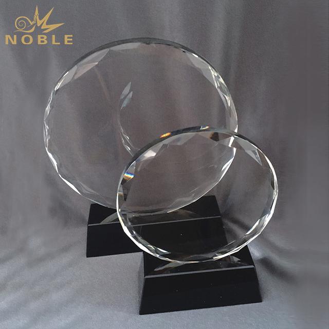 High Quality Custom Sunflower Crystal Award