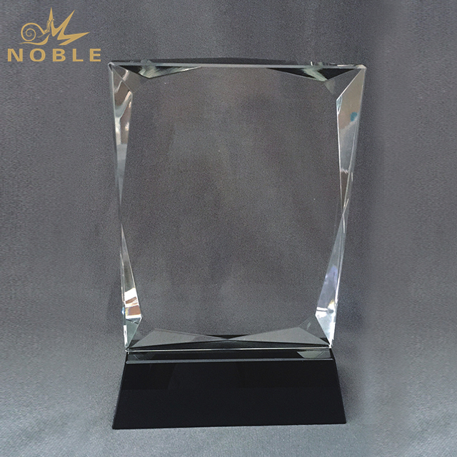 Customized Blank K9 Crystal Trophy For Business Gift