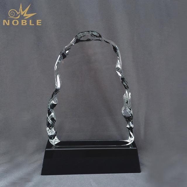 Customized Logo Crystal Iceberg Award