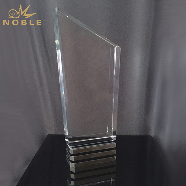 High Quality Blank Crystal Trophy For Engraving