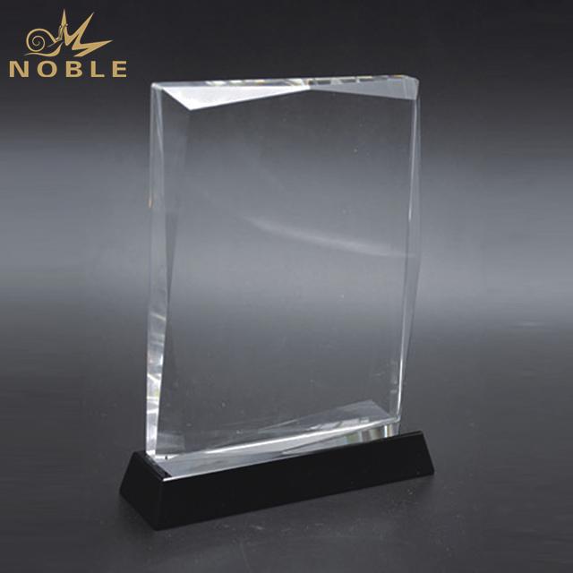 High Quality Customized Blank Crystal Trophy