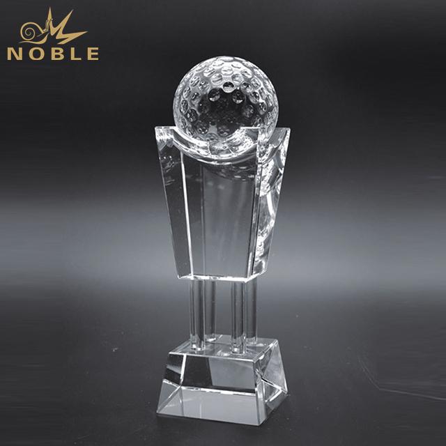 High Quality K9 Crystal Sports Golf Award