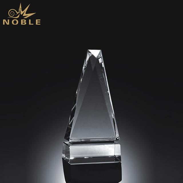 High Quality Custom Crystal Peak Award