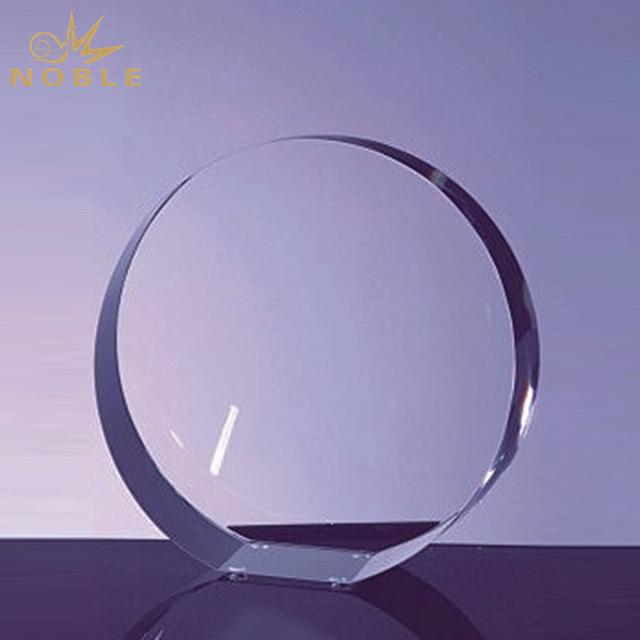 Cheap Blank Crystal Glory Circle Award
