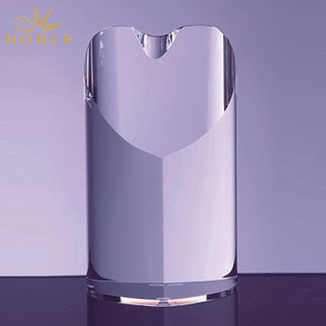 New Design K9 Crystal Heart Shape Tower Trophy