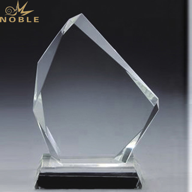 Noble Blank Crystal Trophy Award Plaques Glass Wholesale in China