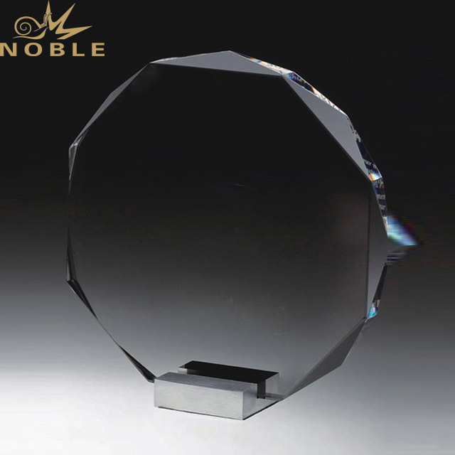 Noble Wholesale Newest Custom Crystal Glass Award Trophy For Sports Events