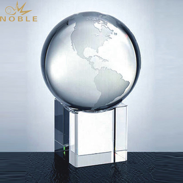 2019 Noble Hot sale Crystal Metal Golf Trophy Award For Sports Competition