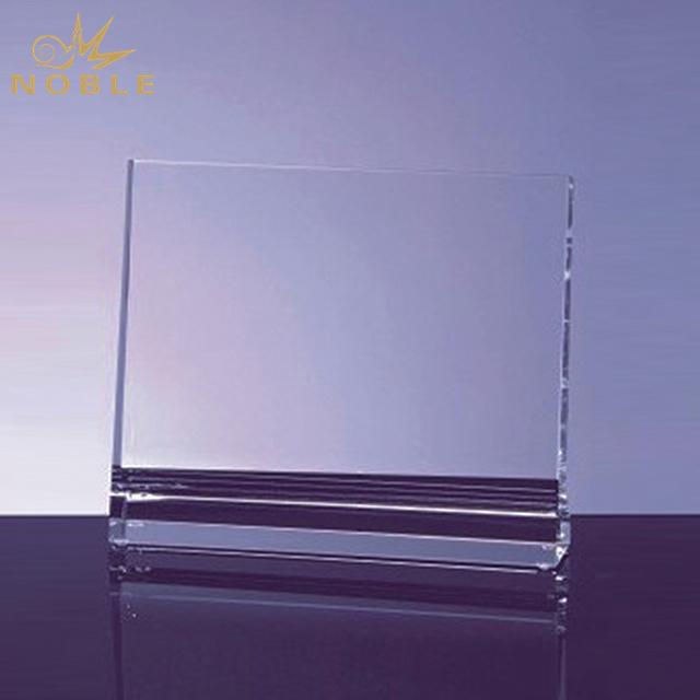 New Design Crystal Vertical Plaque