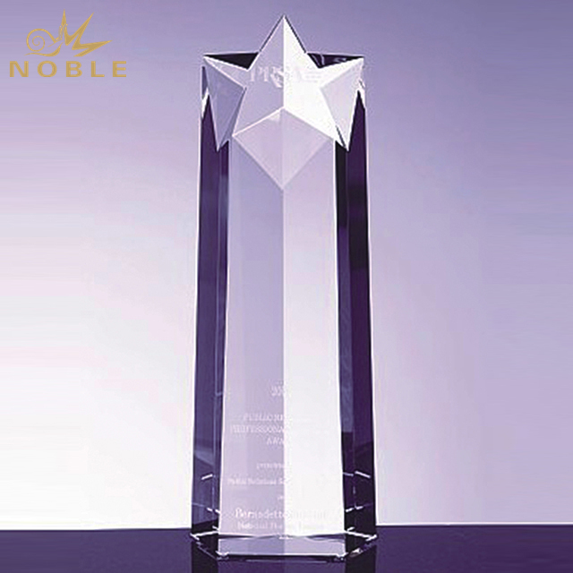 Hot Sale Soaring Super Star Crystal Award
